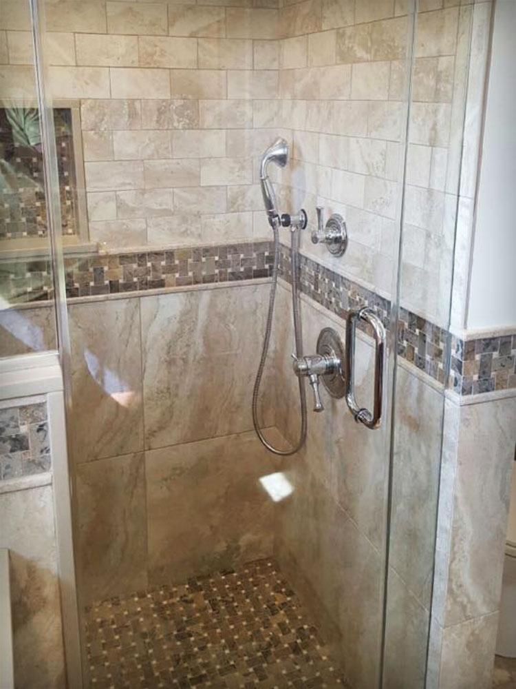 Custom Bathroom Tile