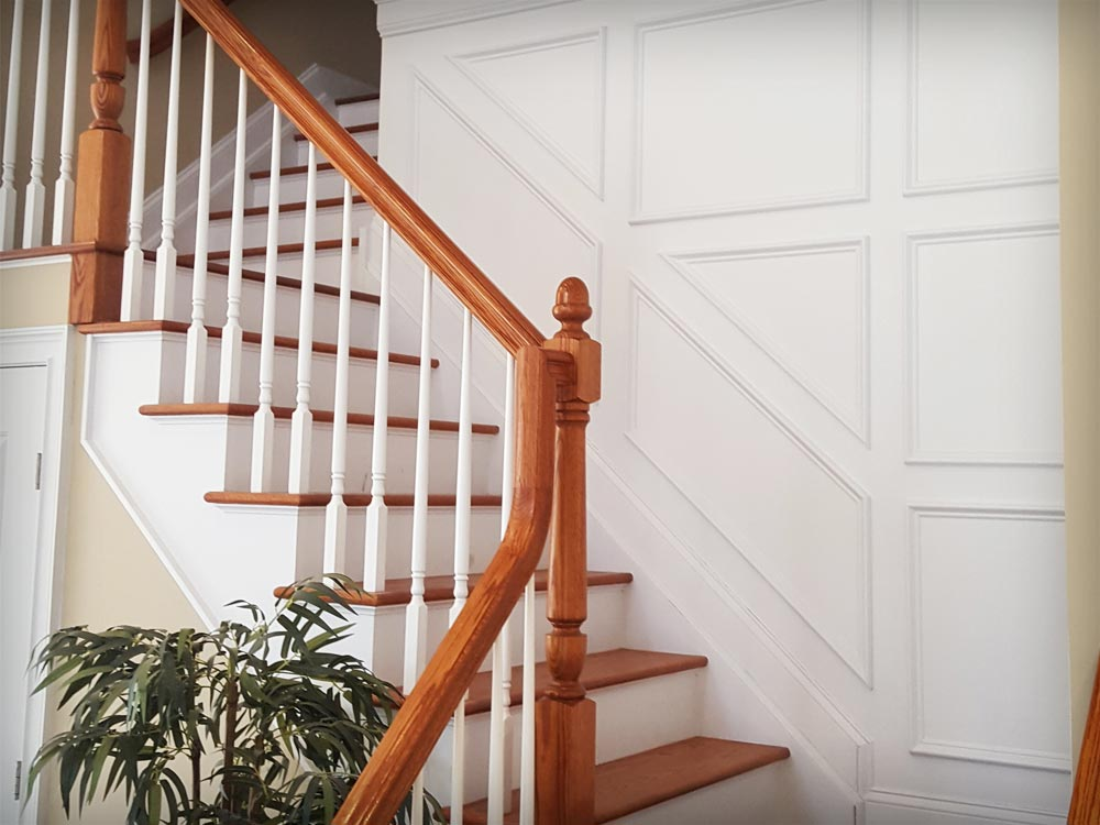 Custom Stairway Panels